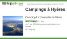 Le Camping La Presqu'île de Giens, n°1 à Hyères et Giens sur Tripadvisor. C'est grâce à vos avis et notes que nous ne cessons de nous améliorer ! Tous nos hébergements possèdent le certificat d'excellence. Venez donner votre avis.